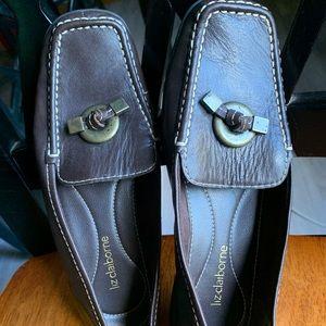 Liz Claiborne Africa II  Leather Slip-on Shows